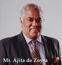 Mr. Ajita de Zoysa