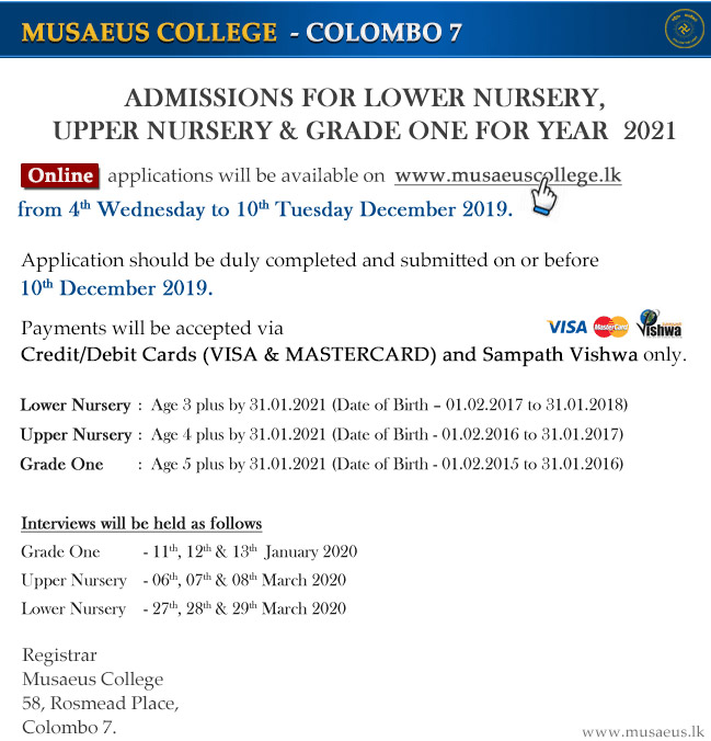 Admission 2021